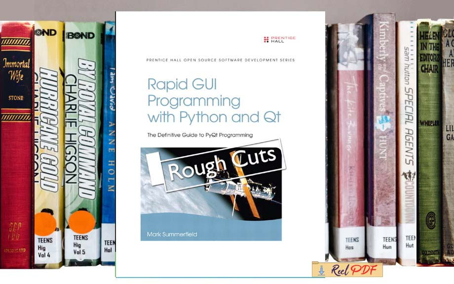 Mark Summerfield Rapid Gui Programming With Python And Qt