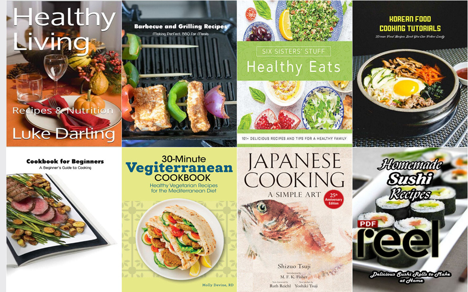 20 Cookbooks Collection