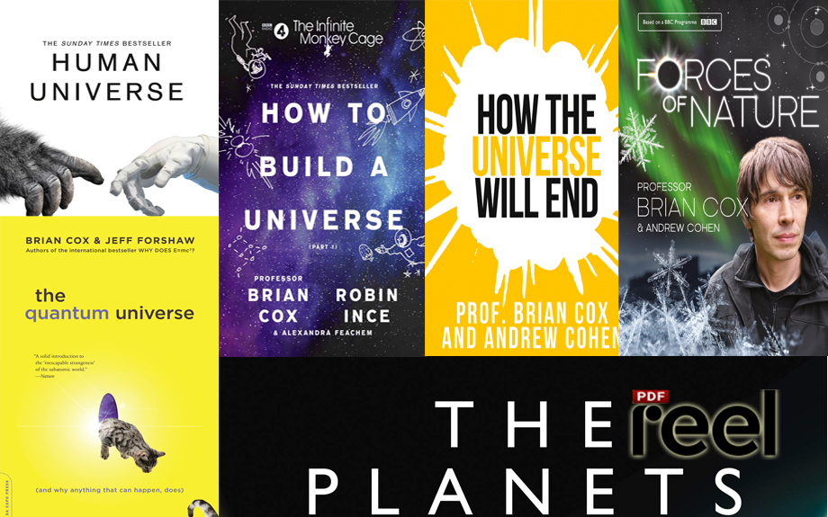 Brian Cox - Wonders of the Universe and other works (12 books)